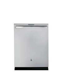 GE Dishwasher in silver color