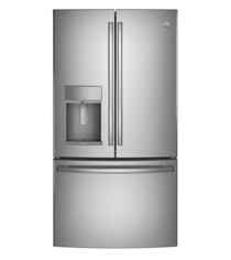 GE Refrigerator with ice and water dispenser