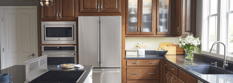 GE Appliances in a bright home kitchen